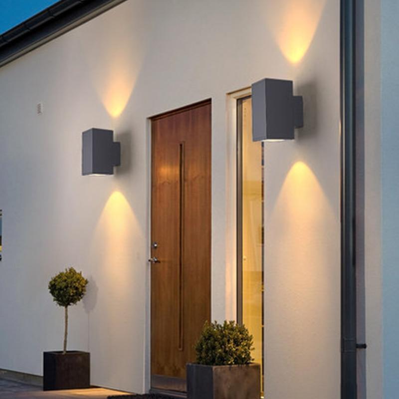 IN JUICY Modern Solar Exterior Wall Lamp Outdoor Balcony Wall Sconce LED Waterproof Door Garden Grass Light