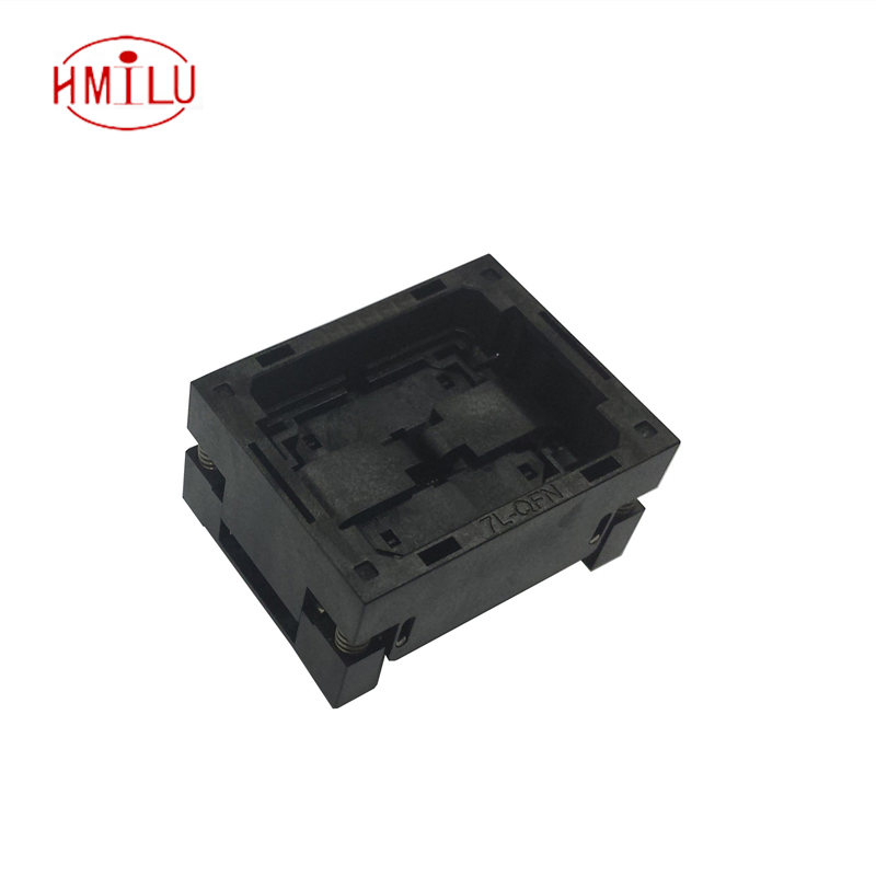 QFN48 Burn in Socket QFN48 MLF48 IC Test Socket Pitch 0.5mm OPEN TOP Chip Size 7*7 Flash Adapter Programming Socket qfn48 burn in socket qfn48 mlf48 ic test socket pitch 0 5mm clamshell chip size 7 7 flash adapter programming socket