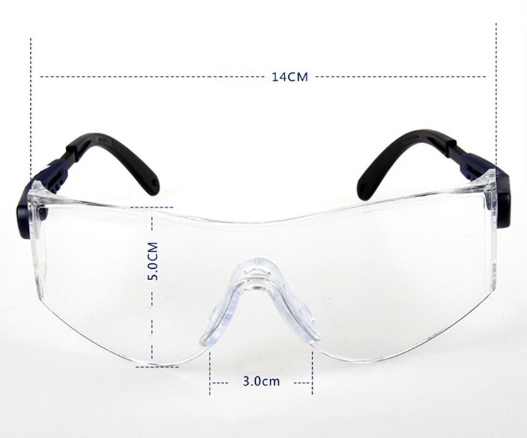 Home & Garden 3m 10196 Protective Eyewear Clear Anti-fog Lens Windproof Sand Laboratory Safety Matching In Colour