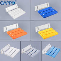 GAPPO wall mounted folding shower chairs for elderly toilet Shower Seats for disabled Waiting Chairs Bathroom chair Cadeira