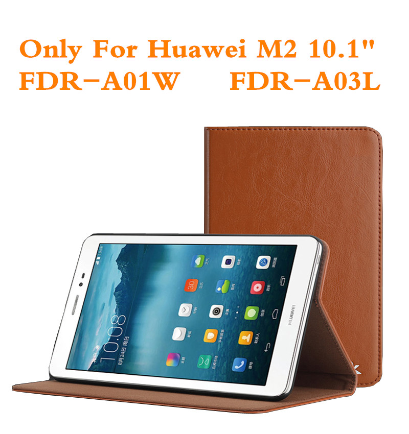 Fashion Leather Case Cover For Huawei MediaPad T2 Pro 10 FDR-A01W FDR-A03L 10.1 M2 Tablet Protective Skin Shell + Gift