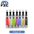 10pcs Innokin IClear 16 Clearomizer Dual Coil Electronic Cigarette Iclear 16 Atomizer Coil head Iclear16 Replaceable Head Coils