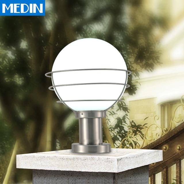 Ordinaire Spherical Stainless Steel Column Headlights Waterproof Outdoor Lighting  Outdoor Patio Door Pillars Walled Garden Wall Lights
