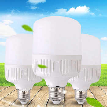 New E27 Energy Saving LED Bulb Light Lamp 5/10/15/20/30/40W Cool White High Sales