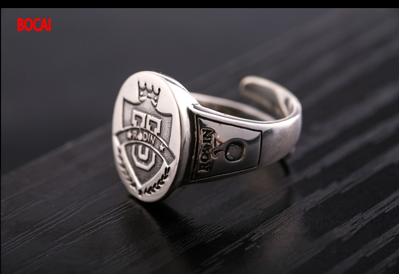 лучшая цена 925 sterling silver jewelry Thai silver restoring ancient ways Thailand import of lions The king of beasts ring