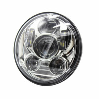 1PCS 5 3 4 In Daymaker Projector LED Headlamp Motocycle 5 75 H4 High Low Beam