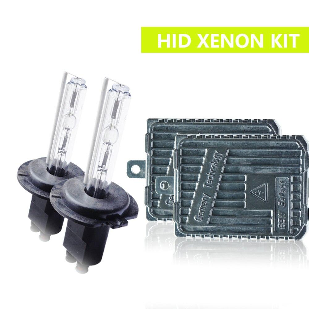 H1 H3 H7 H8/H9/H11 9005/9006 880/881 H4 Hi/low bi xenon 55 W HID Xenon kit ampoule 12 V voiture phare antibrouillard 3000K4300K6000K8000K