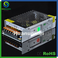 Free shipping 2pcs 60W DC12V 5A led driver switching power supply for led lighting