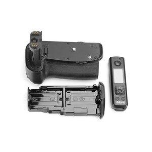 Image 4 - Meike MK 6DII Pro Batterie Griff Eingebaute 2,4G Fernbedienung für Canon 6D Mark II Als BG E21