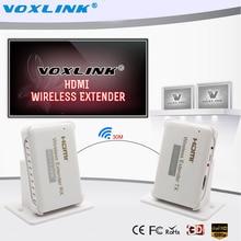 VOXLINK HD 1080 P HDMI 1.4a Drahtlose HDMI Extender für HDTV 3D Wifi HDMI Sender Sender Empfänger bis zu 30 mt Unterstützung HDCP1.4 3D