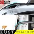KUST 2PCS Rubber Door Seal Filler Strip For Focus 2 Door Protection Seat Filler For Ford For Kuga For Mondeo For CRV For Focus 3