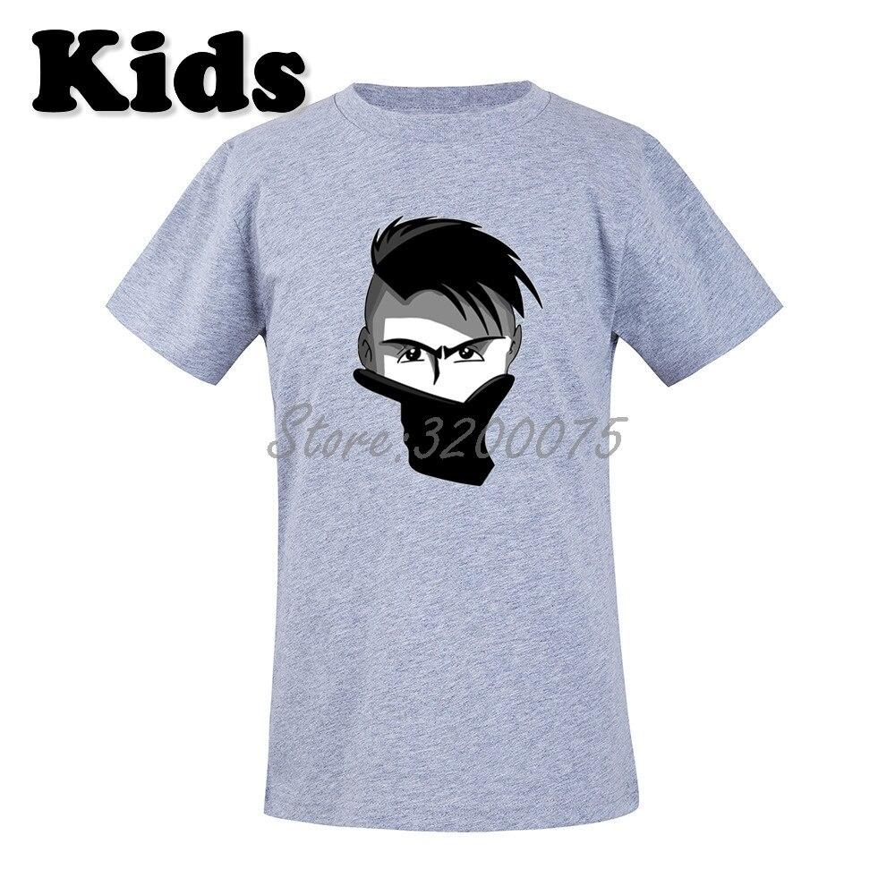 new arrival 4645f 8291d Kids La Joya Paulo Dybala 10 mask gestures T-shirt Clothes Youth boys girl  tshirt tee W19033003
