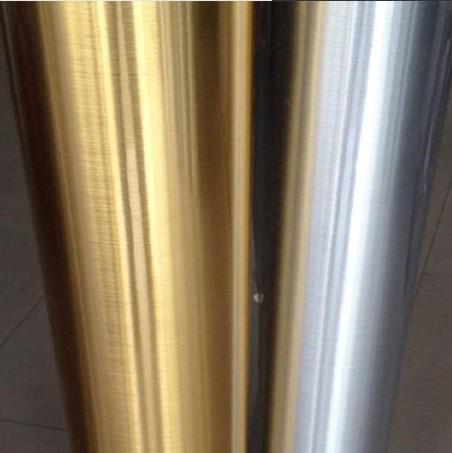 Effetto specchio argento riflettente carta da parati carta da parati carta da parati stickers - Carta a specchio ...