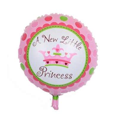 """Ynaayu 1 pcs 18 นิ้ว Prince หรือ Princess บอลลูนฮีเลียม """"Little Princess"""" สำหรับทารกแรกเกิดเด็กทารกวันเกิด Party ตกแต่ง"""