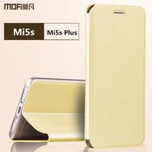 Xiao Mi 5S случае 5.15 Mofi Сяо Mi 5S плюс флип чехол Mi 5S чехол 5.7 Оригинал MOFI САППУ принципиально xio Mi 5S Plus 64 ГБ 128 ГБ