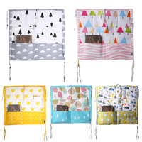 Bed Hanging Storage Bag Multi Functional Baby Bedding Muslin Tree Brand Baby Cot Baby Crib Hanging