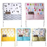 Bed Hanging Storage Bag Multi Functional Baby Bedding Muslin Tree Brand Baby Cot Baby Crib Hanging