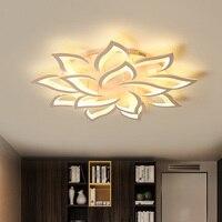 표면 탑재 현대 실내 LED 홈 샹들리에 부엌 조명기구 다이닝 거실 장식 램프 원격 Dimmable