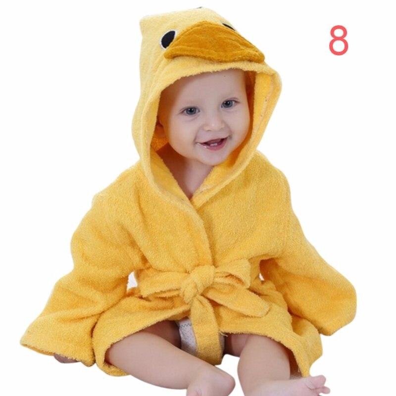 2018 New Baby Winter Autumn Clothing Boys Girls Robes Cartoon Bathrobe Sleepwear Robe 9 Kinds Of Animal Style Newborn
