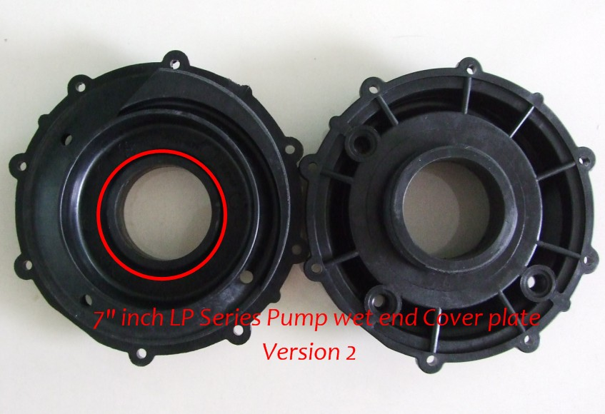 LX LP300 Pump Wet End Cover face plate only with 7 inch diameter China LX pump cover LP 300LX LP300 Pump Wet End Cover face plate only with 7 inch diameter China LX pump cover LP 300