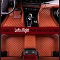 Car-styling carpet Left & Right car floor mats for Hyundai I30 IX30 IX35 veloster GRAND SANTAFE coupe ELANTRA Rohens SONATA NF