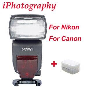 Image 1 - YONGNUO i ttl flash Speedlite YN685 YN685N YN685C fonctionne avec YN622N YN622C RF603 Flash sans fil pour appareil photo reflex numérique Nikon Canon