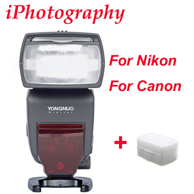YONGNUO i ttl flash Speedlite YN685 YN685N YN685C fonctionne avec YN622N YN622C RF603 Flash sans fil pour appareil photo reflex numérique Nikon Canon
