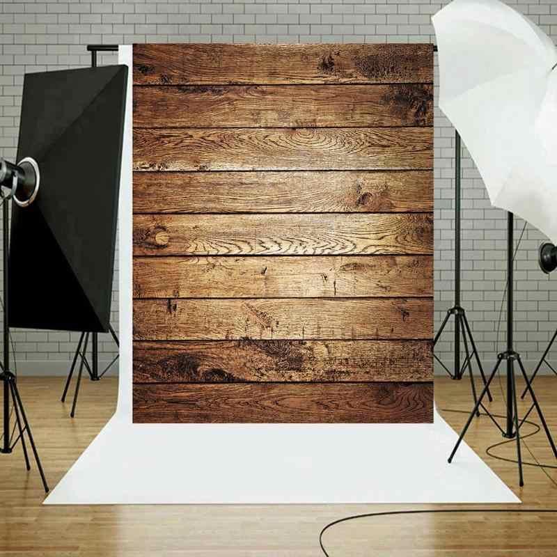 Rétro planche de bois Photo toile de fond tissu plaque photographie fond Studio accessoires photographique écran rideau décor à la maison