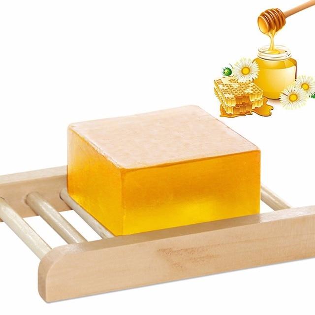100g 100% HandMade Whitening Peeling Glutathione Arbutin Honey Kojic acid Soap 1