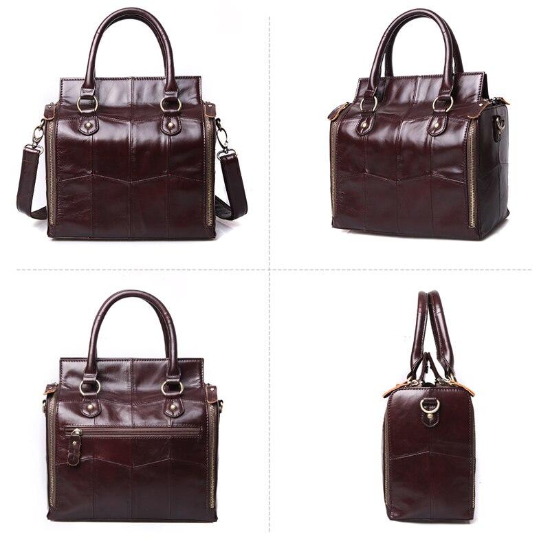 Image 5 - Cobbler Legend многофункциональная большая сумка из натуральной кожи вместительный Органайзер сумка через плечо для женщин 2019 женская сумка-in Сумки с ручками from Багаж и сумки