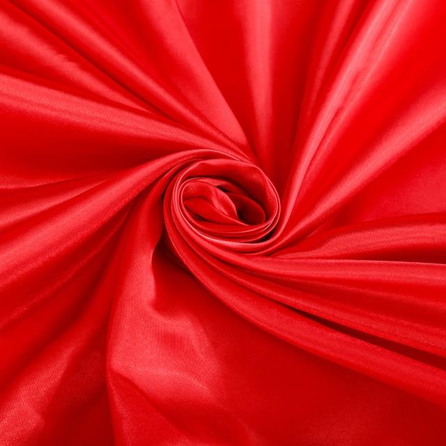 Slow dream-ensemble de literie rouge en Satin | 100%, soie de luxe, couvre-lit, drap plat, taie doreiller, draps de lit, housse de couette, ensemble de vêtements de lit
