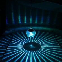 Открытый плавающий подводный шар лампа на солнечных батареях изменение цвета плавательный бассейн вечерние светильник для двора пруда сада