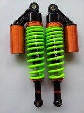 Новый 8 мм весна 320 мм 330 мм Воздуха Амортизатор для honda CB400 cx600 cx500 cx650 ATV Мотоцикла Байк зеленый + черный цвет