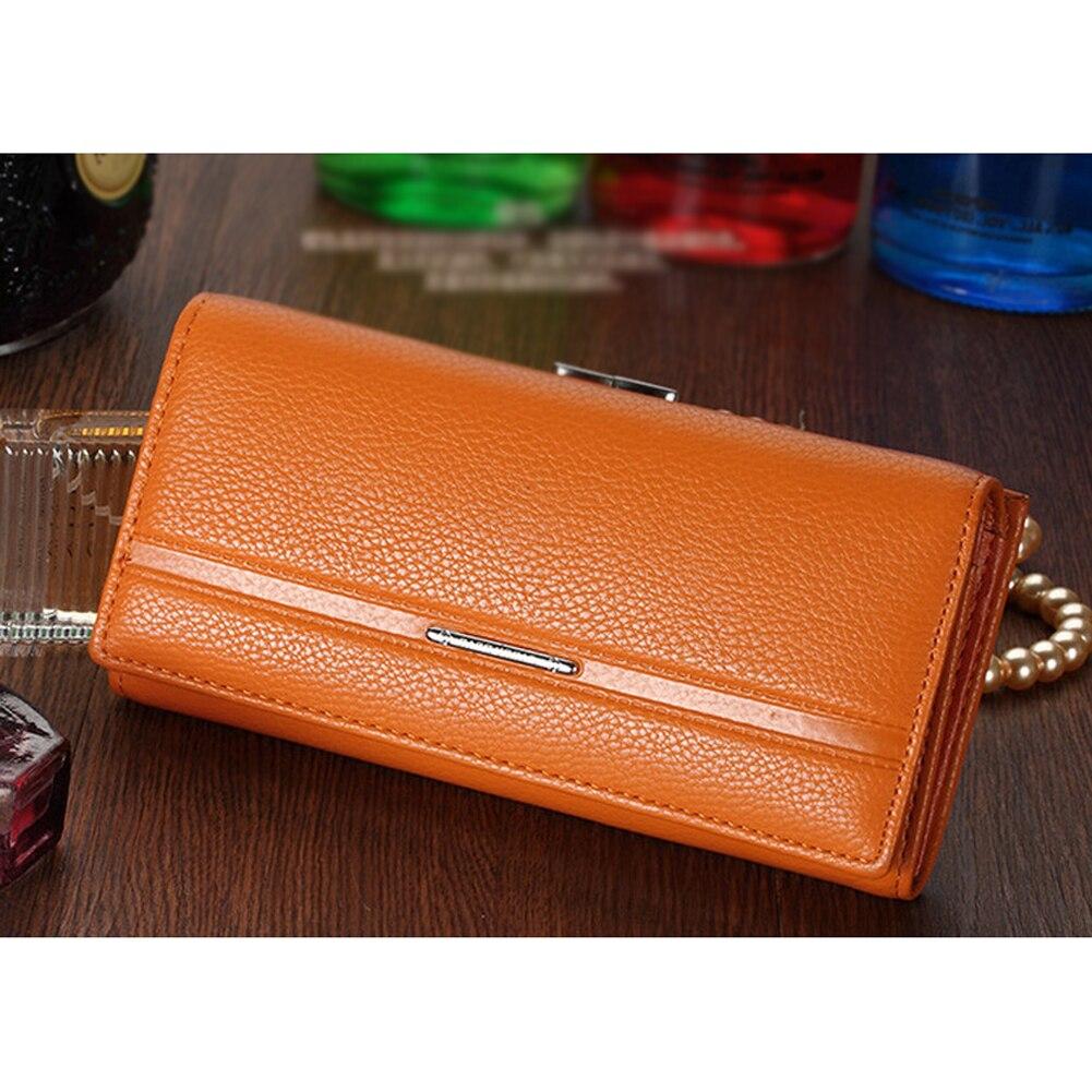 SNNY Wallet Women s Wallet Clutch Long Design Clip Wallet Long Wallets Coin  Purse Bag Orange yellow on Aliexpress.com  79679a41ebc56