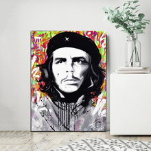 Che Guevara Poster Famous Revolution Man Canvas Painting Monopolyingly POP HD Print Oil Wall Art Picture for Living Room Decor