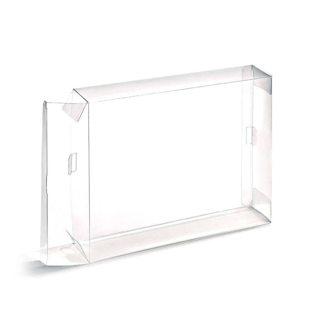 Clear Plastic Game Cartridge Cases For Gameboy Storage Box