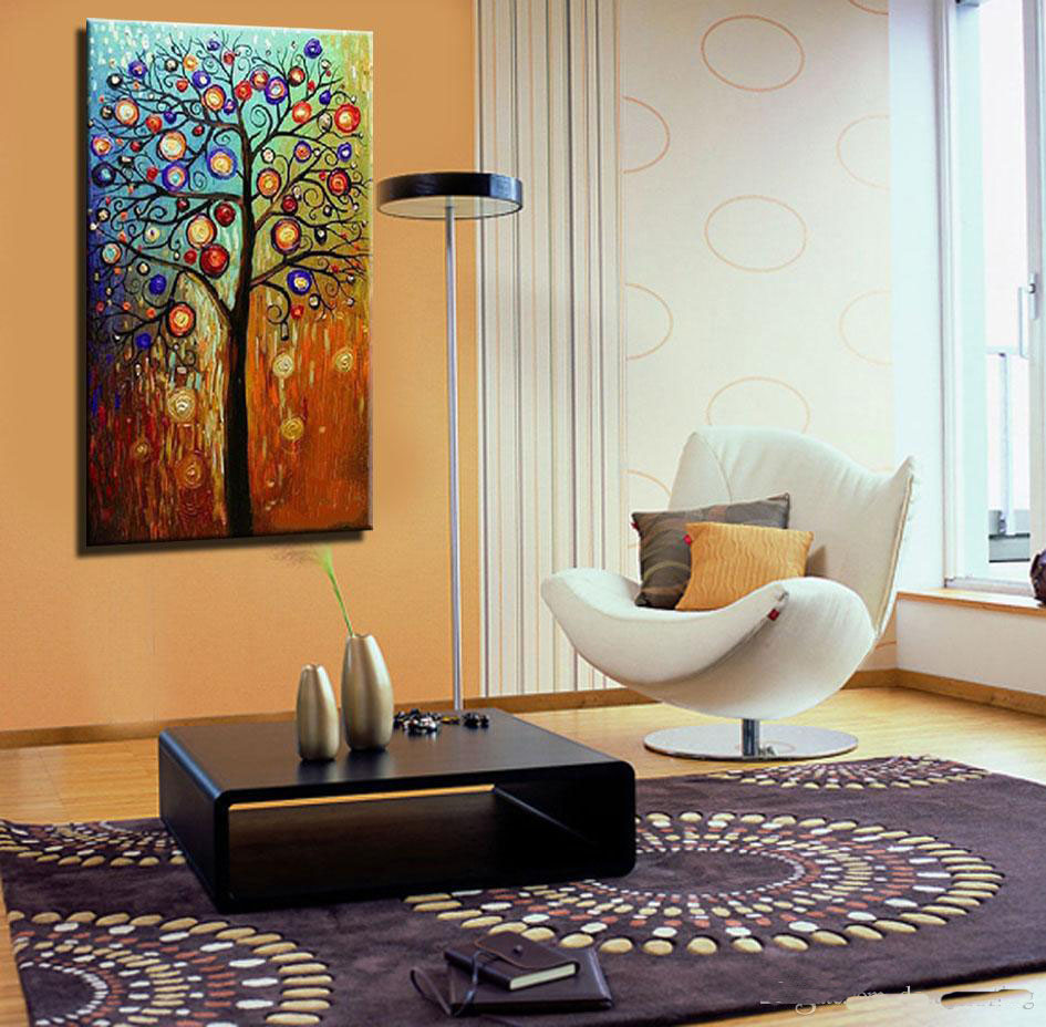 Hand painted Abstract oil painting large canvas art modern ...