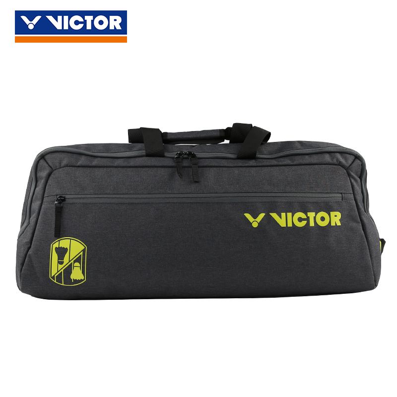 Original Victor Vibrant Badminton Tennis Bag Handbag Sport Bags For Men Women Br3612