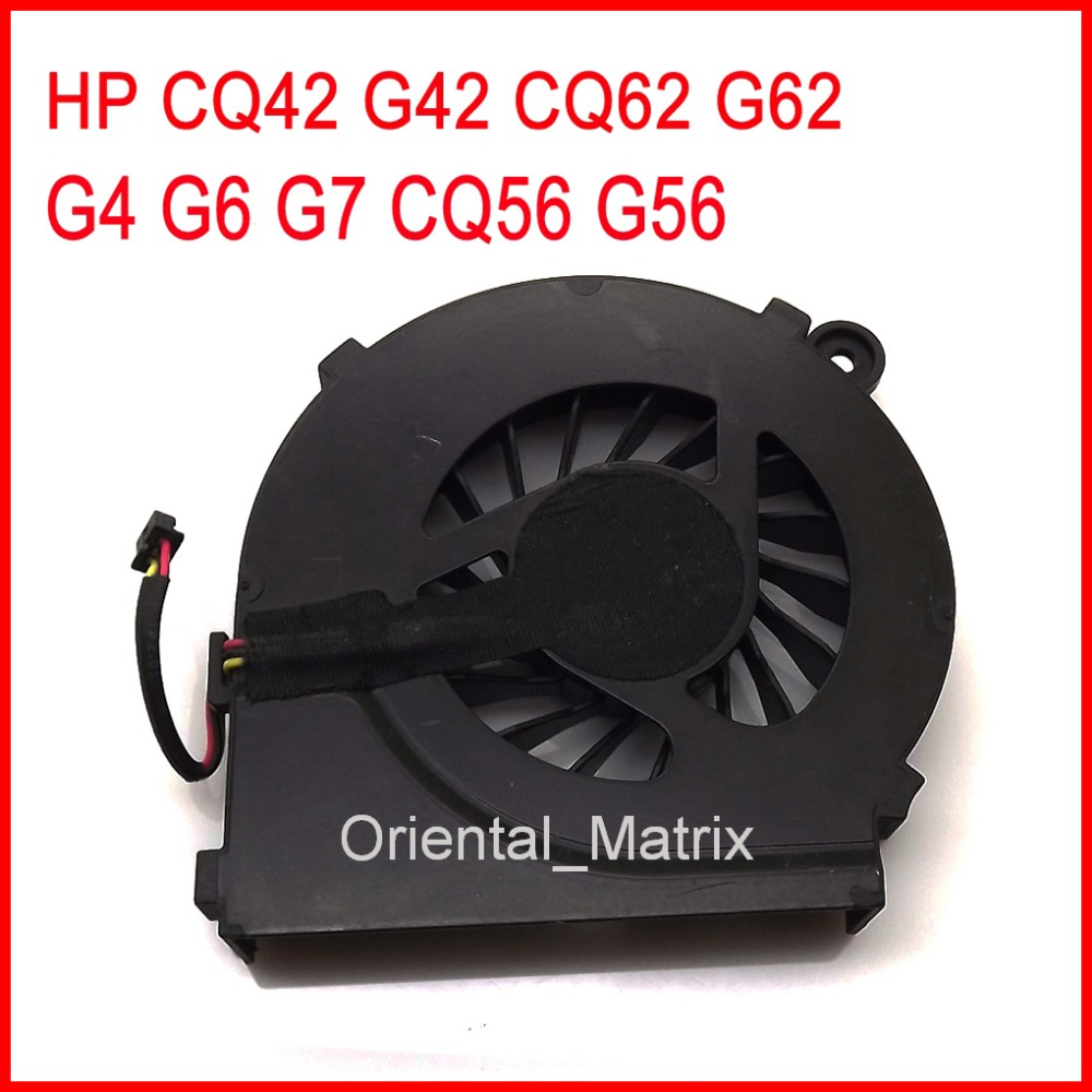 Free Shipping New IKPO 646578-001 Cooler Replacement For HP CQ42 G42 CQ62 G62 G4 G6 G7 CQ56 G56 Laptop CPU Cooling Fan free shipping g4 636370 001 da0r12mb6e1 laptop used disassemble