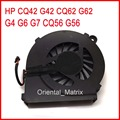 Free Shipping New IKPO 646578-001 Cooler Replacement For HP CQ42 G42 CQ62 G62 G4 G6 G7 CQ56 G56 Laptop CPU Cooling Fan
