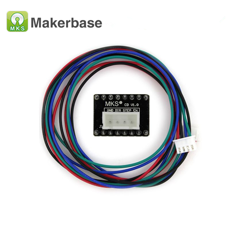 4PCS/lot MKS CD Expansion Board for 57/86 Stepper Motor Driver Current Expansion Board for MKS Gen with Cable4PCS/lot MKS CD Expansion Board for 57/86 Stepper Motor Driver Current Expansion Board for MKS Gen with Cable