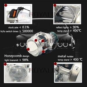 Image 2 - ROYALIN プロジェクターヘッドライトバイキセノンレンズブランド名 EVOX 2.0 D2S 電球 bmw E39 E60 フォードアウディ A6 C5 C6 W211 パサート B6 シュコダファビア