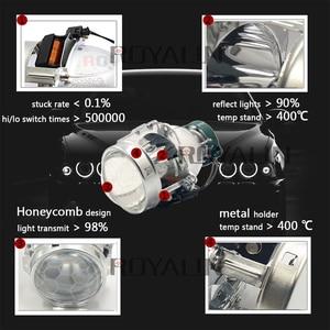 Image 2 - ROYALIN проектор фары bi xenon объектив EVOX 2,0 D2S лампы для BMW E39 E60 Ford Audi A6 C5 C6 W211 Passat B6 Skoda Fabia