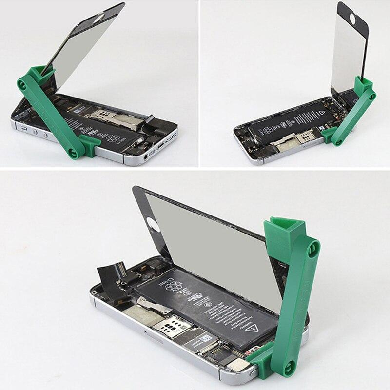 Powstro 360 Rotation Universal Telefon Reparatur Ständer Halter Handy Lcd Bildschirm Befestigungs Leuchte Clamp Clip Für Iphone Ipad Werkzeug