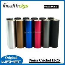 100% Original Wismec Noisy Cricket II-25 Box Mod Dual 18650 Battery Alternative Operating Mode Updated of Noisy Cricket Mod