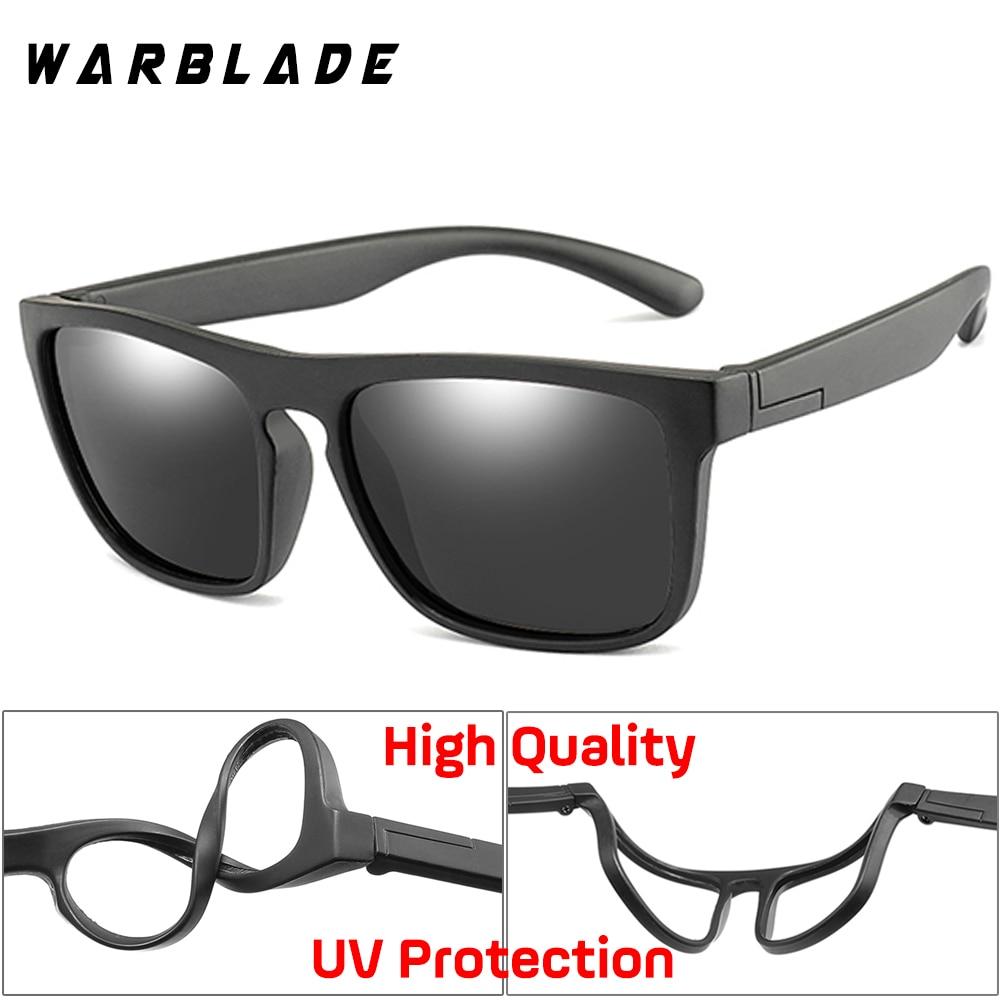 Children Square Polarized Silicone Sunglasses Safe Sun Glasses Uv400 Coating Mirror Lentes De Sol Mujer Girls Boys Apparel Accessories