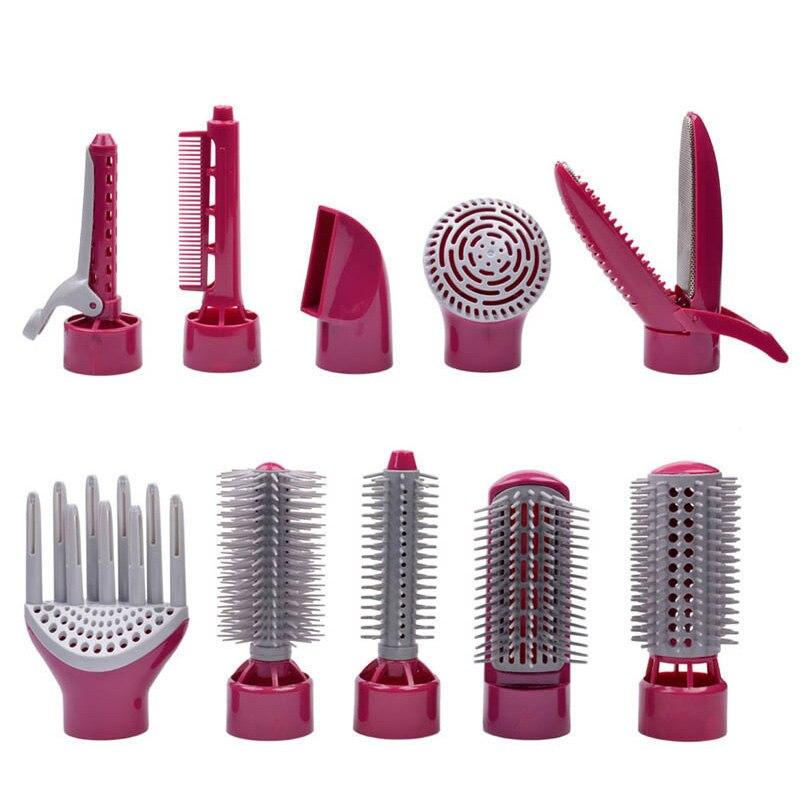 10 в 1 многофункциональный фен с расческой для путешествий профессиональный фен для волос фен для укладки инструмент Househeld HS14 S42