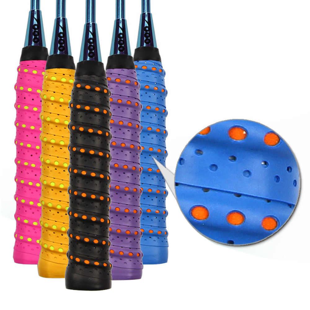 Anti-slip Tape Handle Grip For Tennis Badminton Squash Band Roll Tennis Badminton Squash Handle Tape Badminton Racket Sweat Band
