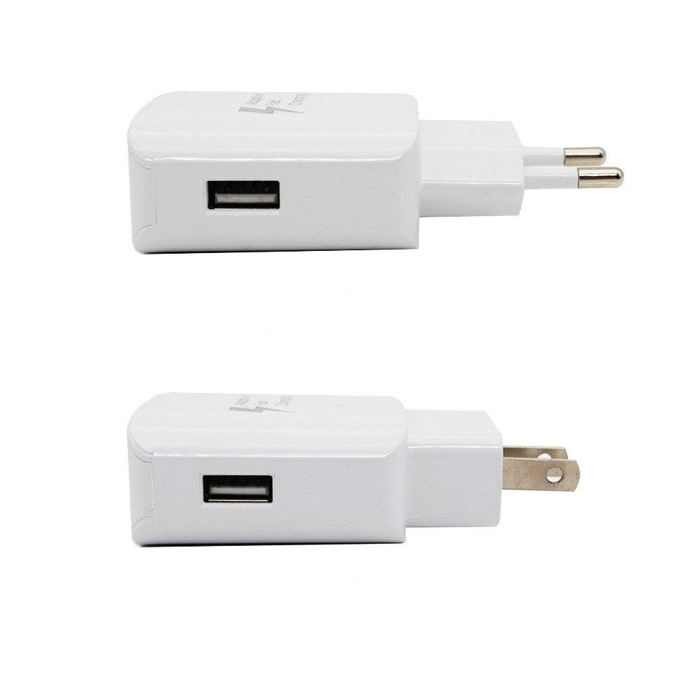 Image 5 - USB зарядное устройство для телефона EU US type быстрое зарядное устройство QC2.0 с бесплатными зарядными кабелями, совместимыми с iphone samsung huawei xiaommi настенное зарядное устройство-in ЗУ для мобильных телефонов from Мобильные телефоны и телекоммуникации