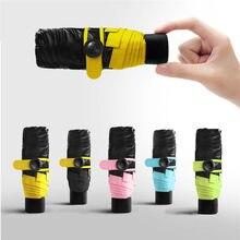 c4956eab8 Colorful Mini Pocket Umbrella Fashion Rain Covers Compact Folding Travel  Parasol Light Portable Small